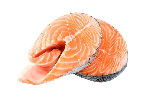 chum salmon portions