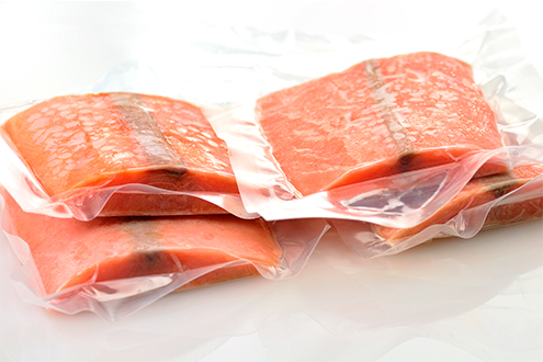 pink salmon portions